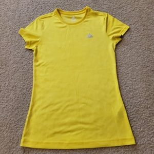 ADIDAS Climalite Fitted Short Sleeve Top